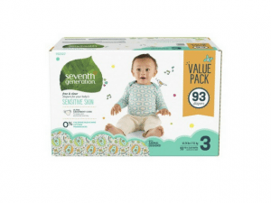 Seventh Generation Baby Diapers – Free and Clear