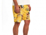 Blighty Boardshort – Wave Flower, Sunshine